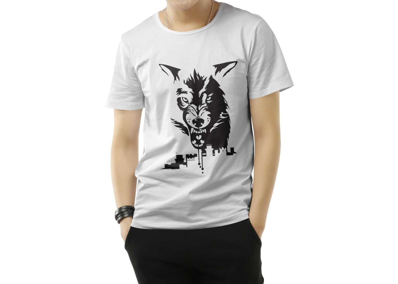 Men T-shirt PSD Mockup Template