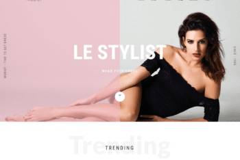 Free Sexy Fashion Clothing HTML Template