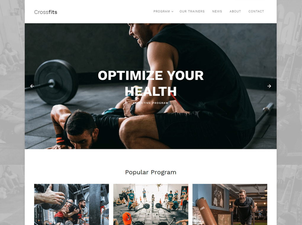 crossfit workout website