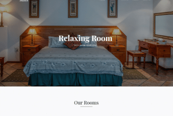 Free Resorts Selection Website HTML Template