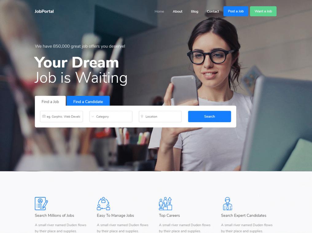 Job Listing Portal