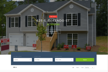 Free Real Estate Selling HTML Template