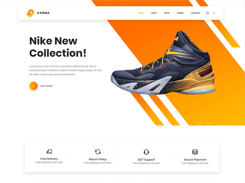 Shoe Collection Website