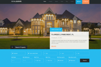 Free Royal Real Estate HTML Template