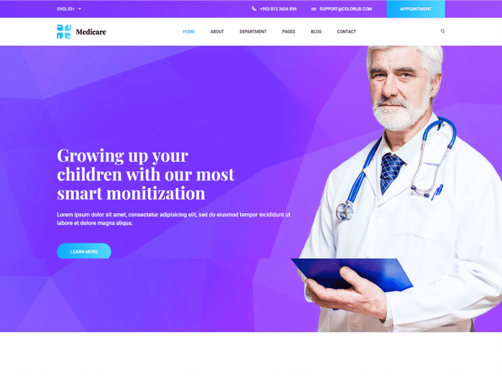 Medical Care Website