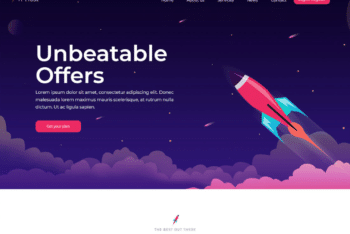 Free Awesome Web Hosting Website HTML Template