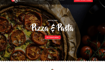 Free Italian Cuisine Website HTML Template