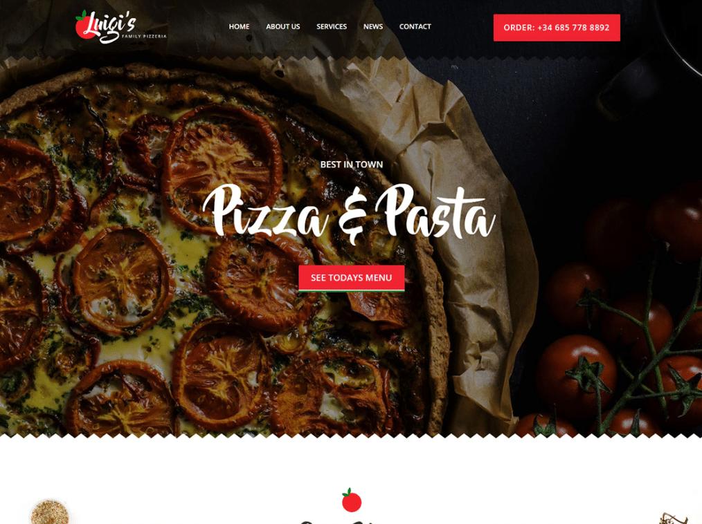 Italian Cuisine Website