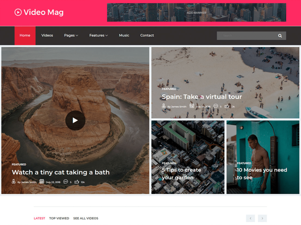 web design magazine free magazine website html template designhooks 10312