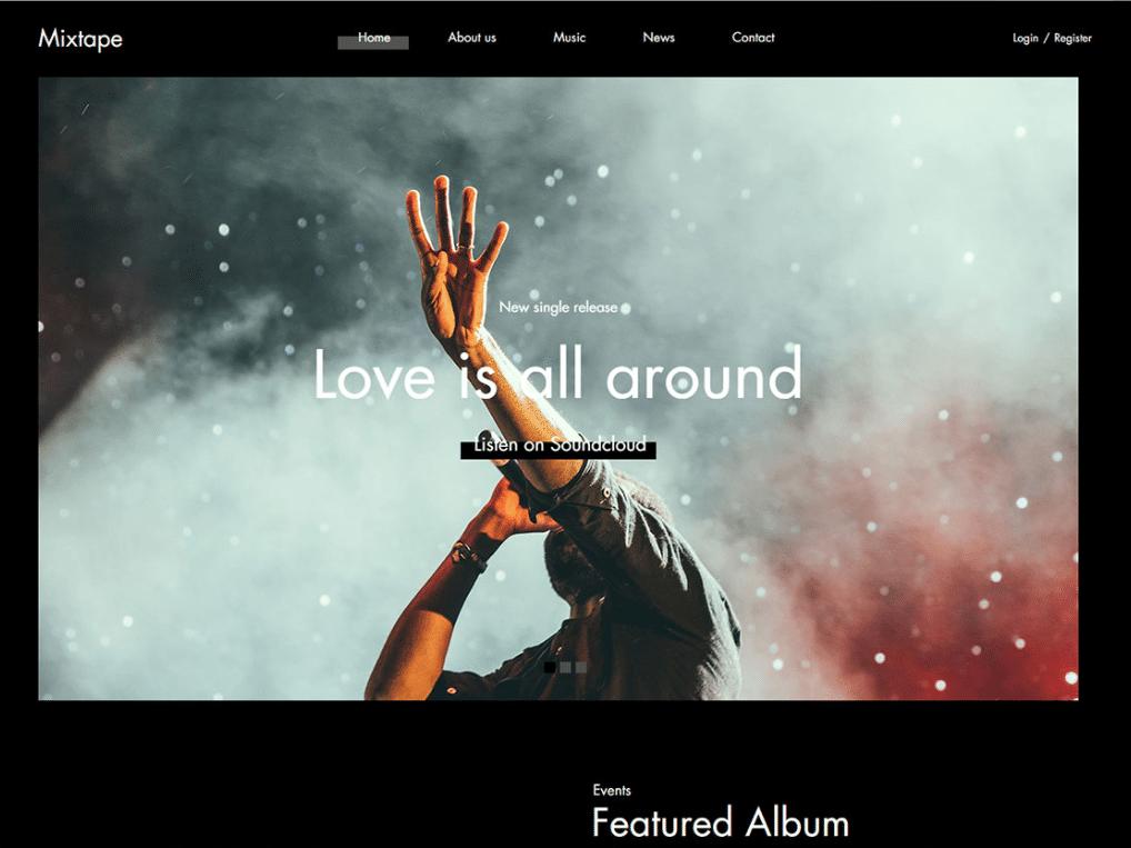 Music Artist Platform