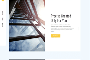 Free Architecture Design Sharing HTML Template