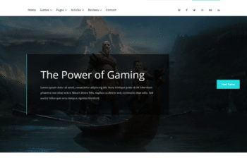 Free Multi Platform Gaming HTML Template
