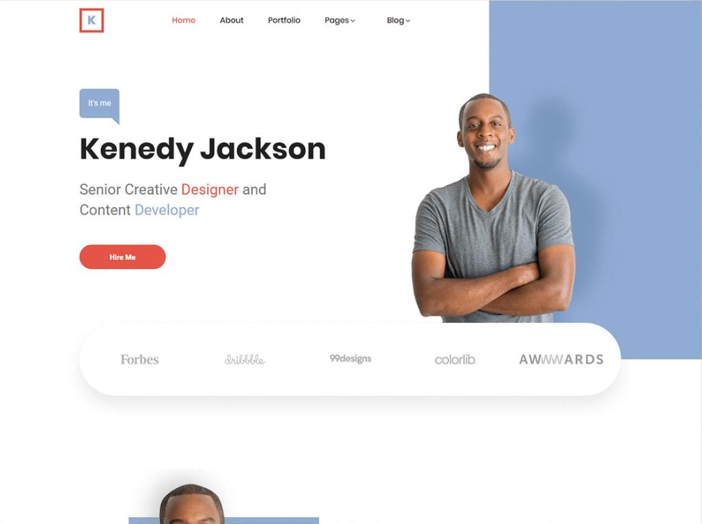 Simple Personal Website