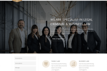 Free Lawyer Plus Legal Website HTML Template