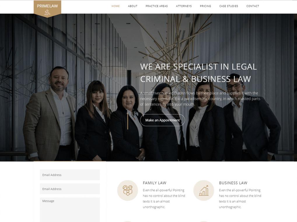 Lawyer Plus Legal Website