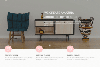 Free Furniture Plus Interior Design HTML Template