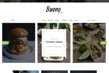Free Exotic Food Place HTML Template