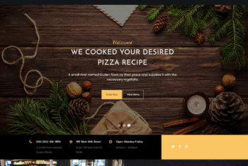 Free Special Pizza Place HTML Template