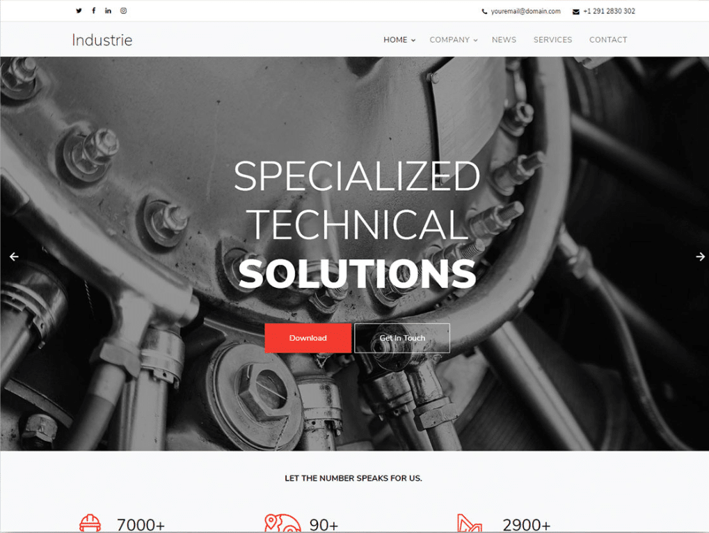 Industrial Works Website