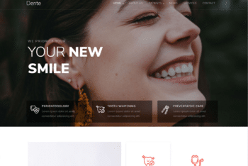 Free Dental Care Plus Smile HTML Template