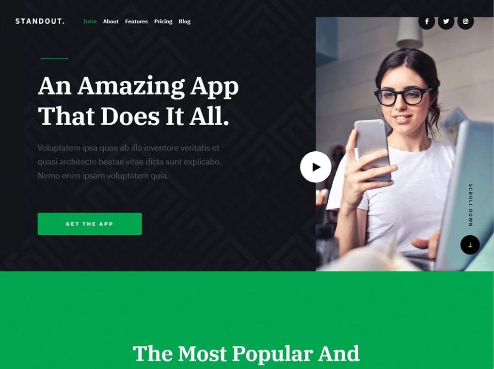 Email App Website
