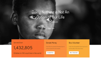 Free Welfare Charity Website HTML Template
