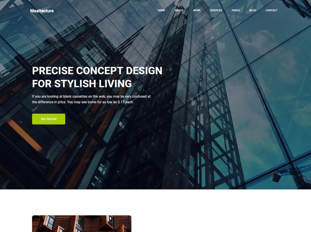 Modern Architecture Website