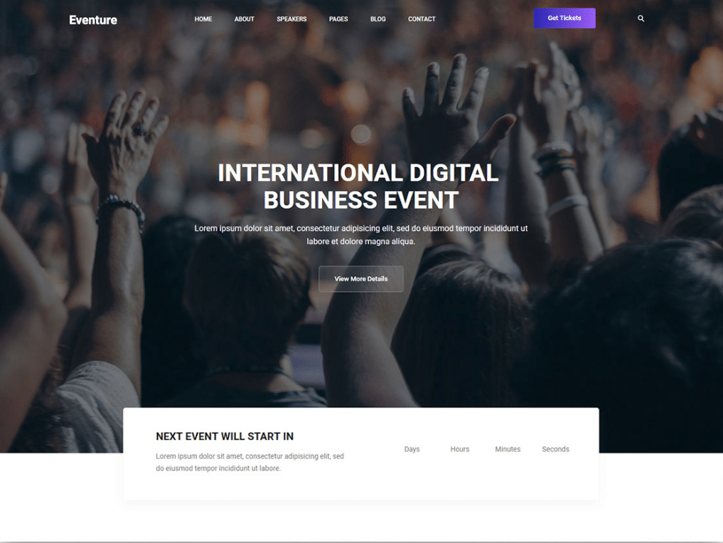Business Event Website