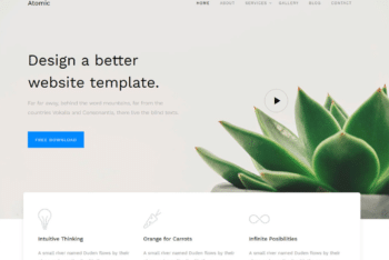 Free Fresh Business Website HTML Template