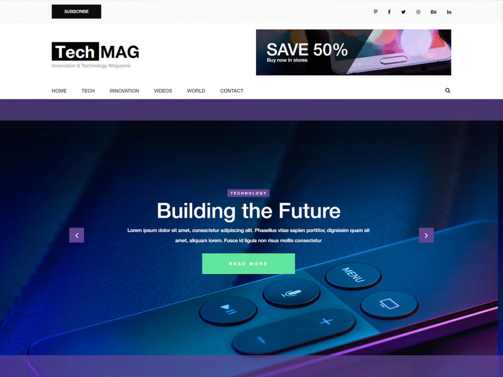 Technological Devices Website