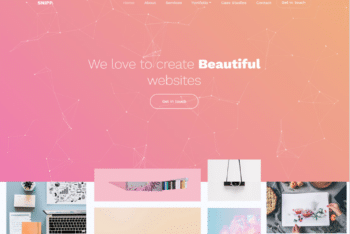 Free Creative Business Website HTML Template
