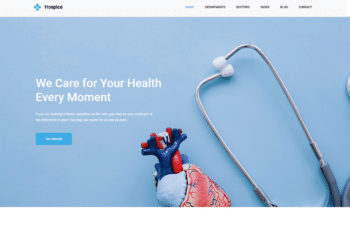 Free Online Clinic Website HTML Template