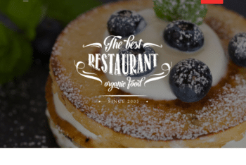 Free Sweet Online Bakeshop HTML Template
