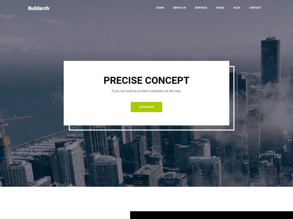 Architect Firm Website