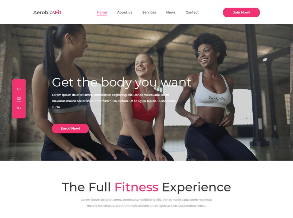 Aerobics Fitness Regime