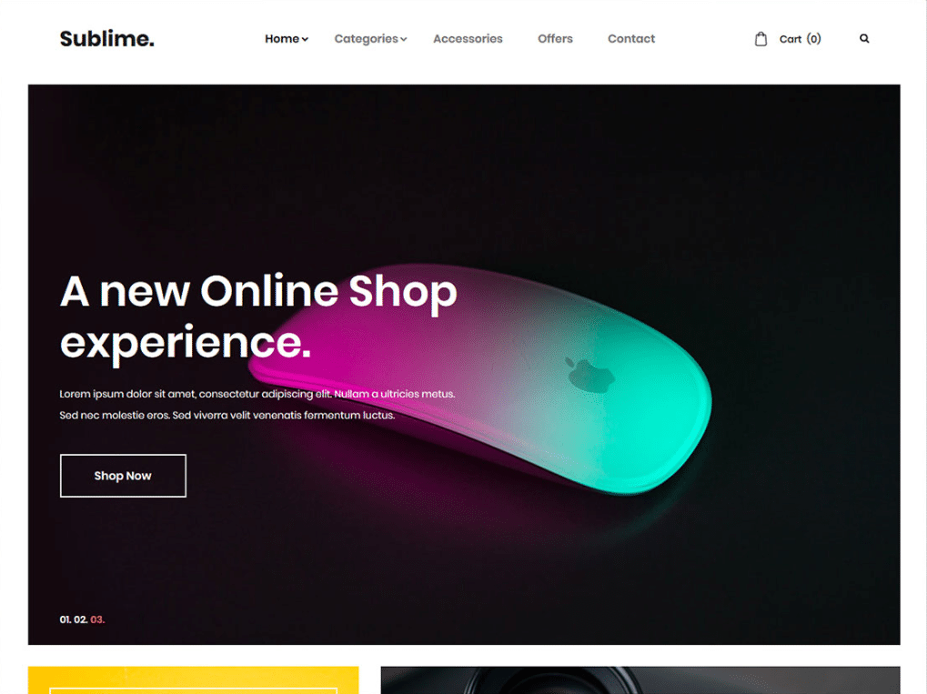 Online Electronic Store