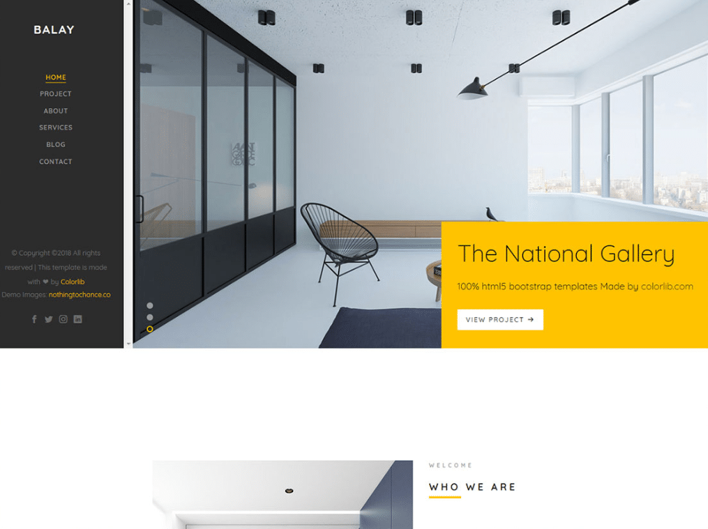 Delicieux Free Classy Interior Design Website HTML Template