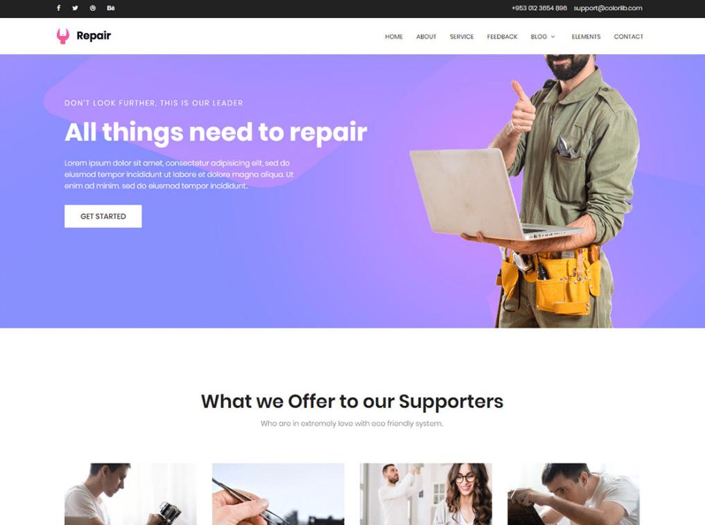 Handy Repair Website
