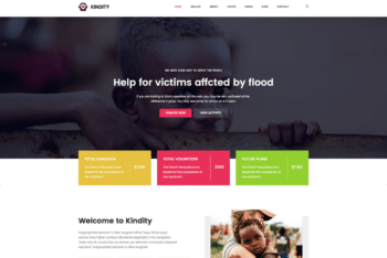 Free Noble Charity Website HTML Template