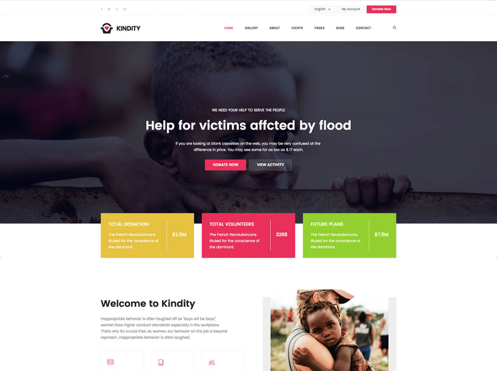 Noble Charity Website