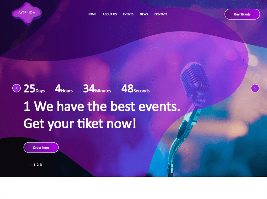 Wonderful Event Website