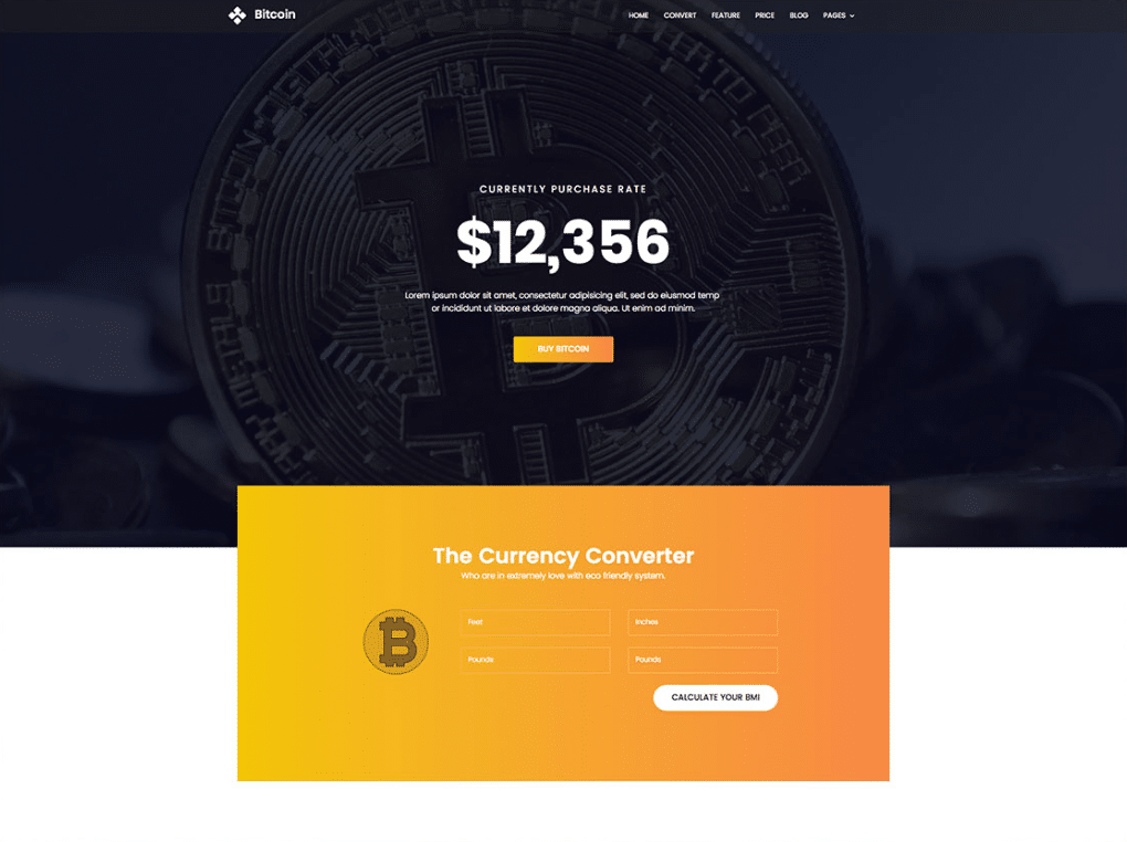 Bitcoin Cryptocurrency Platform