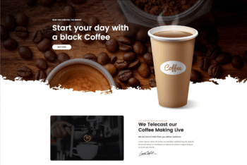 Free Roasted Coffee Online Cafe HTML Template