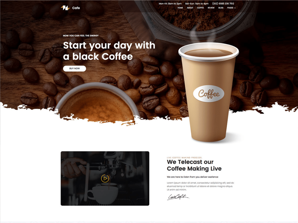 Roasted Coffee Online Cafe
