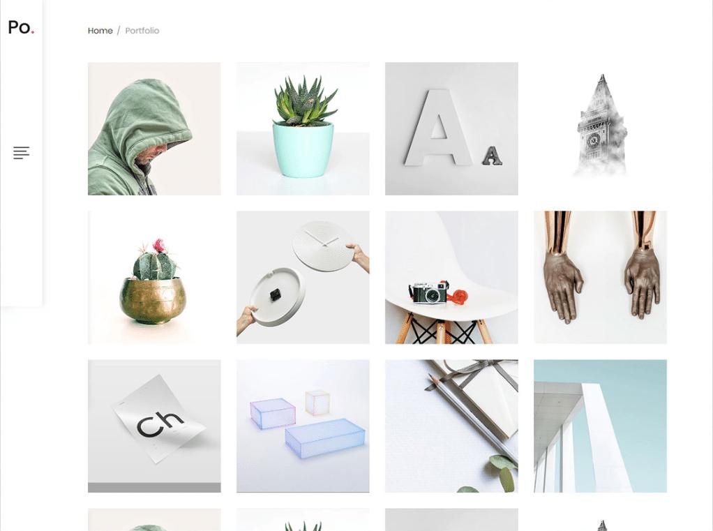 Clean Minimalist Portfolio