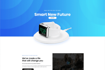 Free Smart Watch Shop HTML Template