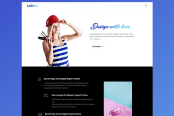 Free Creative Architecture Website HTML Template