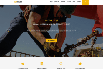 Free Reliable Construction Company HTML Template