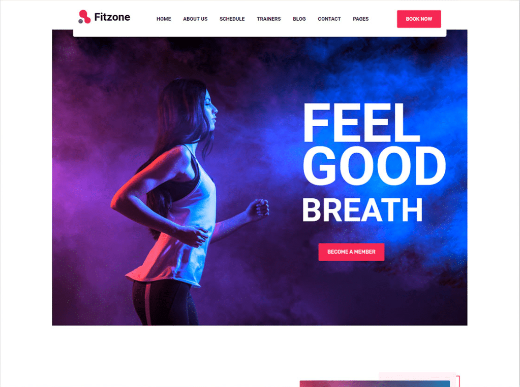 Feel Good Fitness Website
