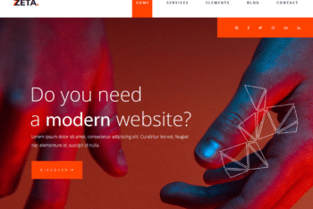 Free Modern International Business HTML Template